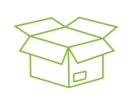 Import, Verpackung und Versand